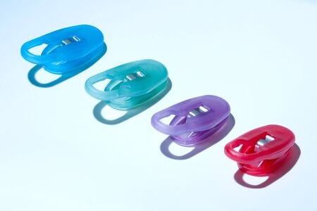 Colors Clips Stock Photo