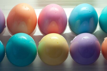 Easter egg order Stock Photo