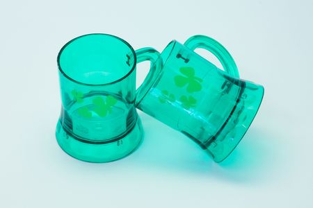 St patrick glasses composition
