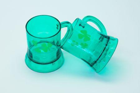 composition: St patrick glasses composition