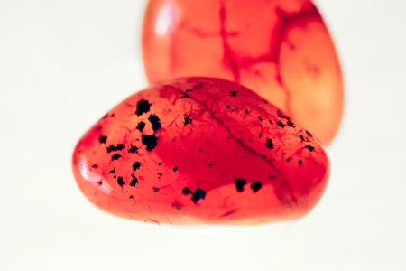 carnelian: Carnelian couple Stock Photo