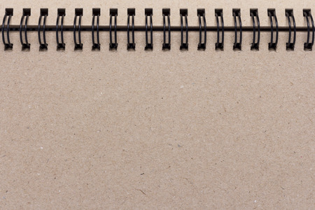 blank note book: Blank note book paper for background. Stock Photo
