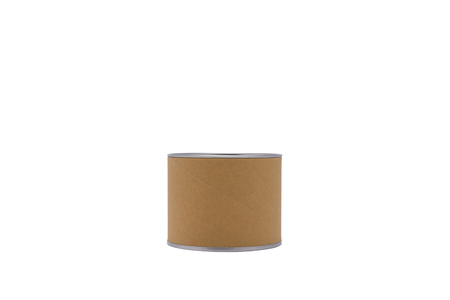 Cylinder container isolated on white background.For your product. Reklamní fotografie