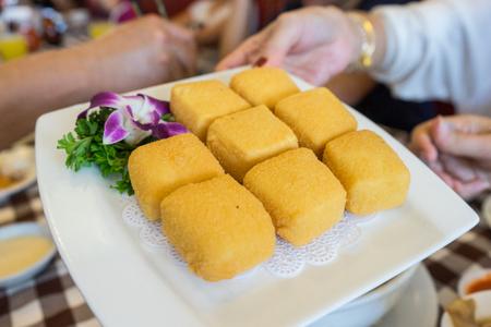 beancurd: Crispy Beancurd or Fried Tofu in Singapore.