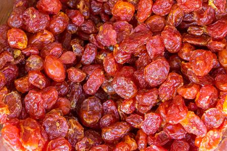 Сушеные томаты абстрактного фона. Сухой помидор