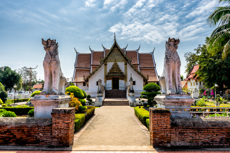 Wat Phumin temple, Nan Province, Thailand. Temple is a public place.Created over 100 years old.
