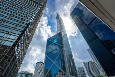 Современный офис в центральном деловом районе в городе Гонконг, Гонконг