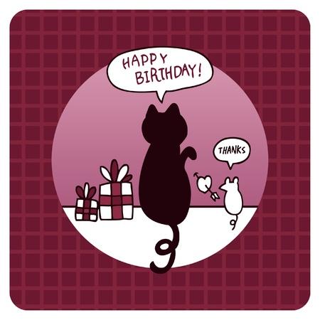 생일 카드 일러스트