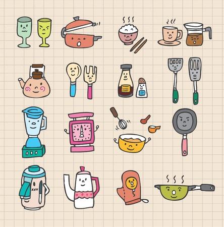 cute kitchen element Stock Vector - 8493883