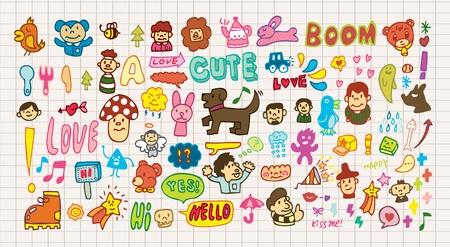 estrella caricatura: icono de dibujos animados divertido