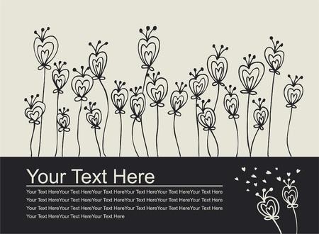 Love invitation card Stock Vector - 8493842