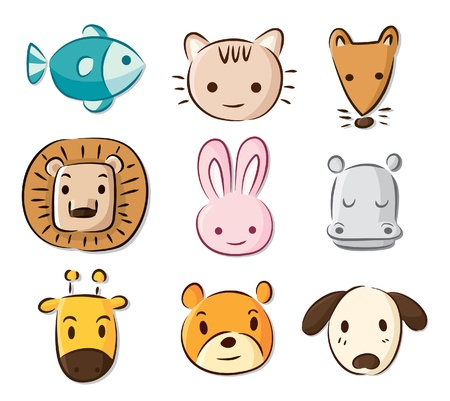 hippopotamus: animales de dibujos animados sexy