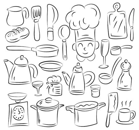 drawing pins: Kitchen draw