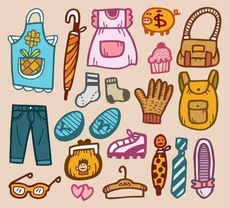 bibs: doodle appliance Illustration