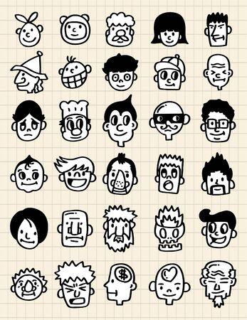 cute cartoon icon Vector