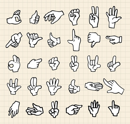 human right: hand icon