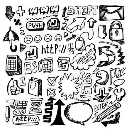 bocetos de personas: web de sorteo de mano