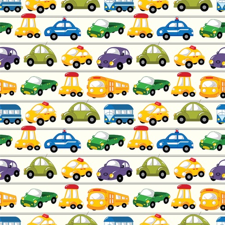 car pattern: seamless car pattern Illustration