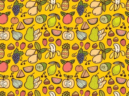 원활한 과일 패턴
