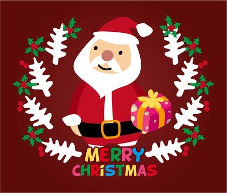 cute christmas card Stock Vector - 8480472