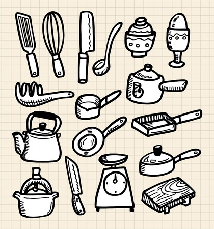 pepperbox: doodle kitchen