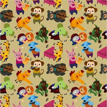 원활한 동물 음악 패턴