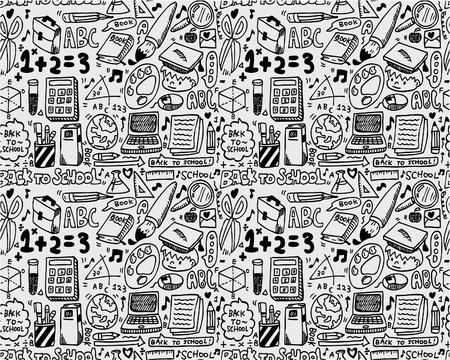seamless school pattern Stock Vector - 8472585
