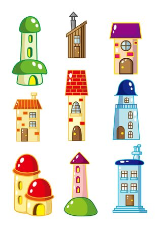 cartoon House icon