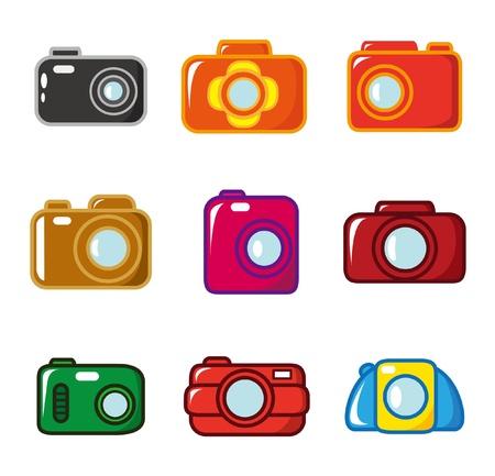 cartoon Camera icon Vector