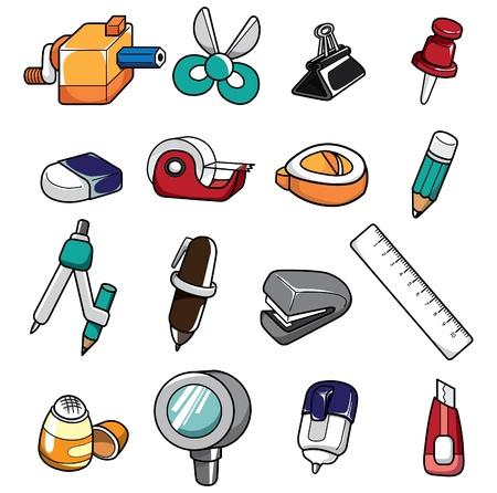 scissor: doodle stationery Illustration