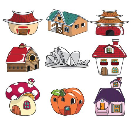 doodle house Stock Vector - 8507292