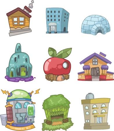 case colorate: casa doodle