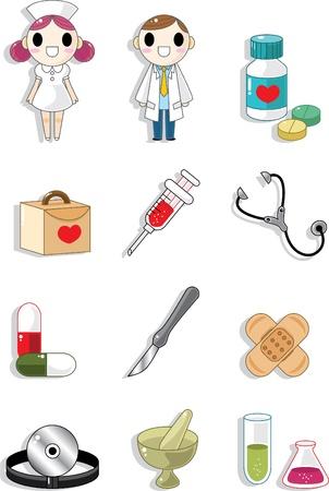 Hospital doodle Stock Vector - 8509724