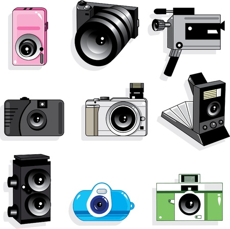 analog camera: camera icon