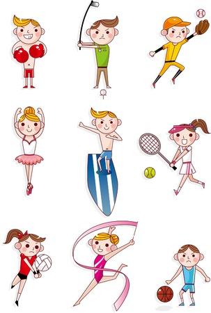 cartoon sport Stock Vector - 8505595