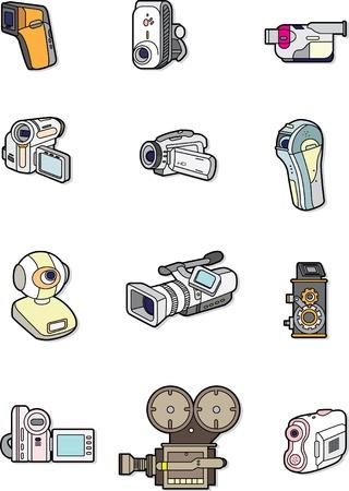 doodle camera element Stock Vector - 8504808
