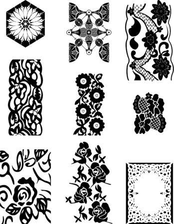 guipure: lace set