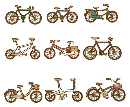 cartoon bicycle Stock Vector - 8504757