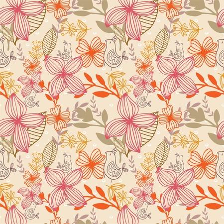 pattern flower Stock Vector - 8504832