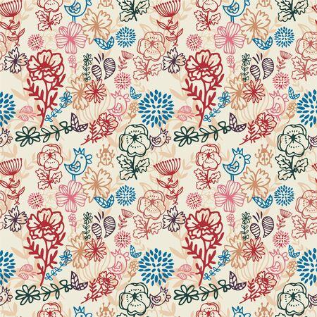 pattern flower Stock Vector - 8504837