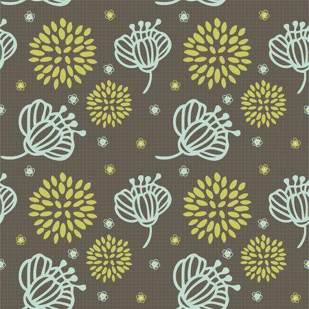 pattern flower Stock Vector - 8504835