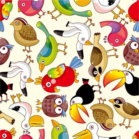toekan: naadloze vogel patroon