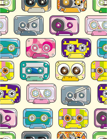 seamless tape pattern Vector