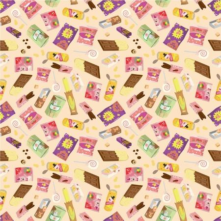 merenda: pattern di snack senza saldatura