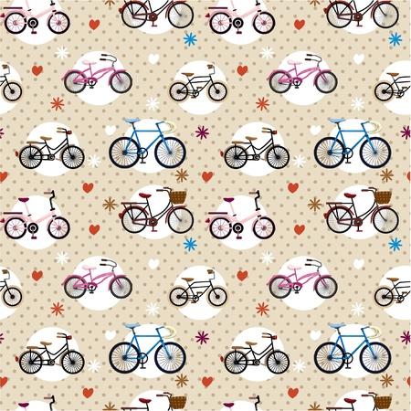 원활한 자전거 패턴
