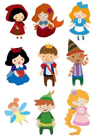 princesa: pueblo de la historia de la historieta