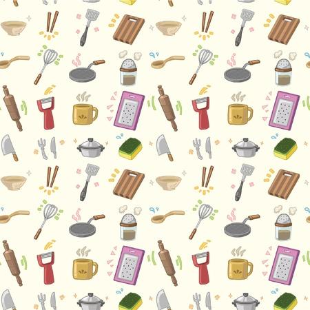 transparente patrón de cocina