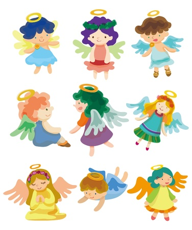 cartoon Angel Stock Vector - 8505616