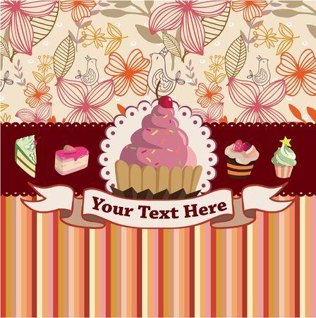 honey cake: cake card
