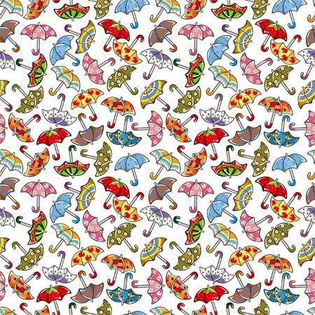 cilp: seamless Umbrellas pattern